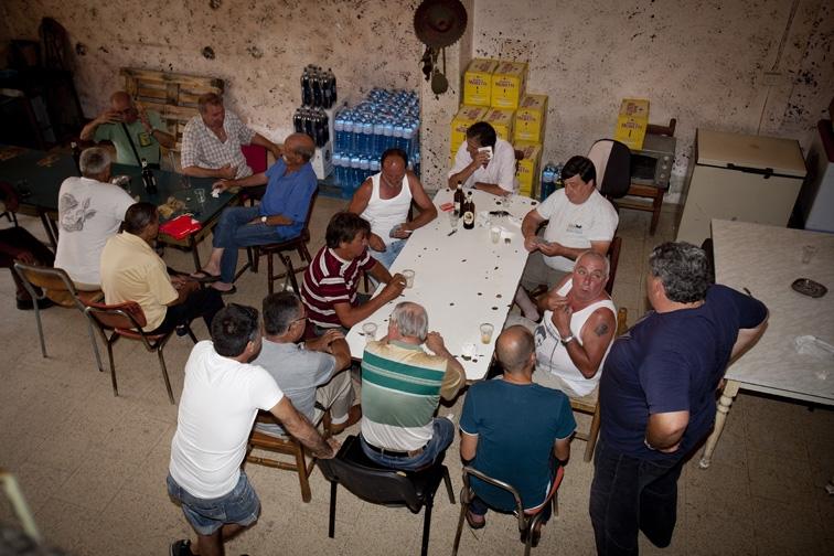 In der Taverne von Rambo in Palermo. Foto: Mauro D'Agati