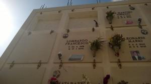 Gräber von unbekannten Flüchhtlingen. (c) Sandro Mattioli