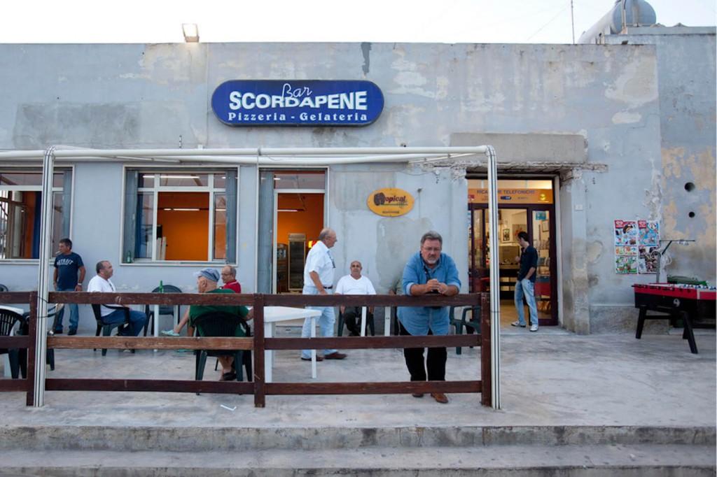 Die Fischerbar Scordapene in Pozzallo. (c) mauro D'Agati