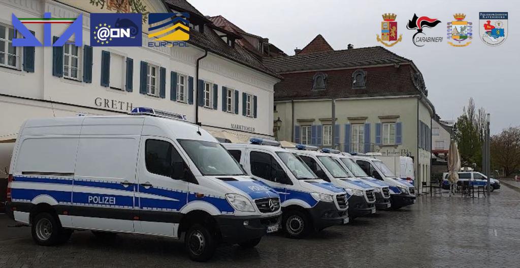 Mafia-Durchsuchungen in Überlingen am Bodensee